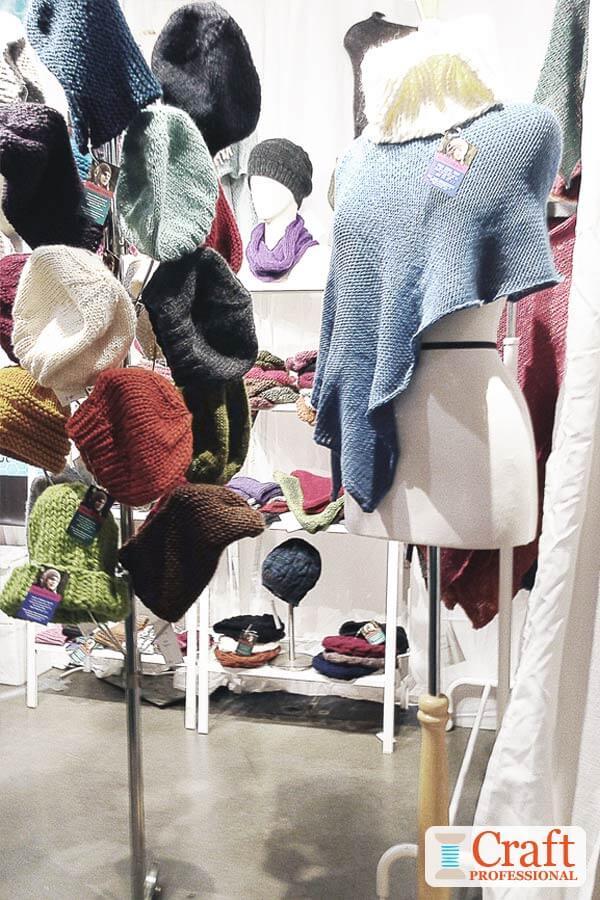 Knit Hat Display