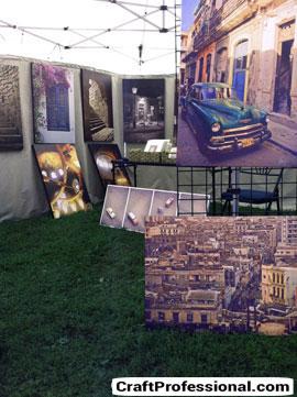 Selling paintings