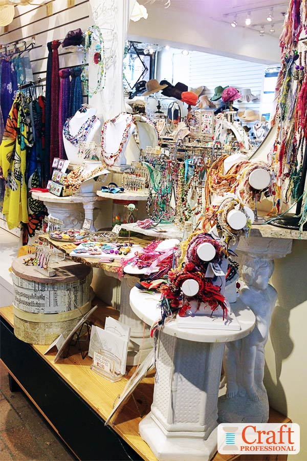 Handmade Accessories Display